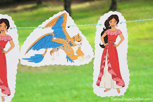 Elena Of Avalor Banner Idea