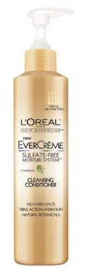 loreal+evercreme+cleansing+conditioner LOreal Paris EverCreme Sulfate Free Moisture System