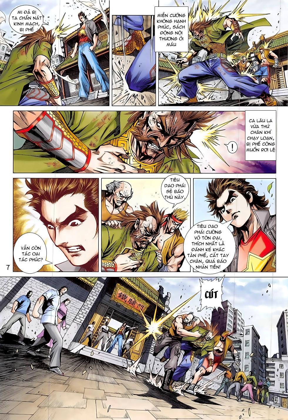 Tân Tác Long Hổ Môn chap 794 Trang 7 - Mangak.info