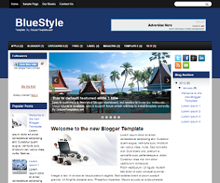 NewBlueStyle+Blogger+Template