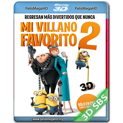 MI VILLANO FAVORITO 2 (2013) 3D SBS 1080P HD MKV ESPAÑOL LATINO
