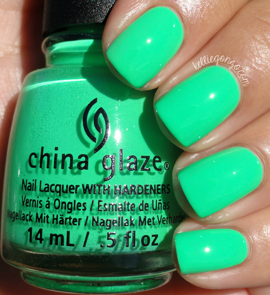China Glaze Treble Maker Electric Nights