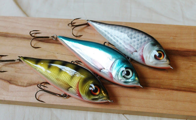 Homemade fishing lure blog mikko invades britian for Handmade fishing lures