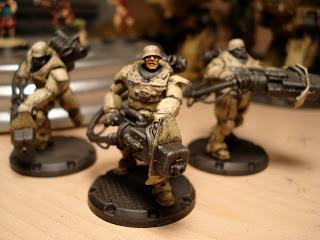 Heavy Laser Grenadiers