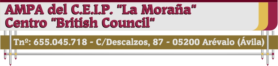 """AMPA del C.P. """"La Moraña"""""""