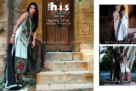 H.I.S Studio Net Silk Eid Dresses