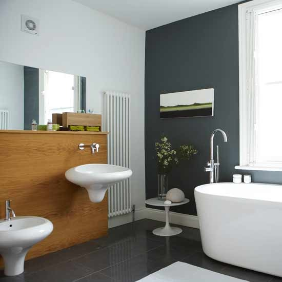Pisos Para Baño Modernos:Baños Modernos: Sala de Baño Chic