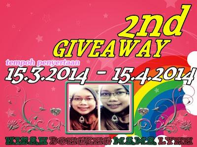 Kisah Dongeng Mama Lynn 2nd Giveaway