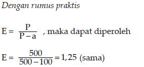 contoh persamaan elastisitas 2.1