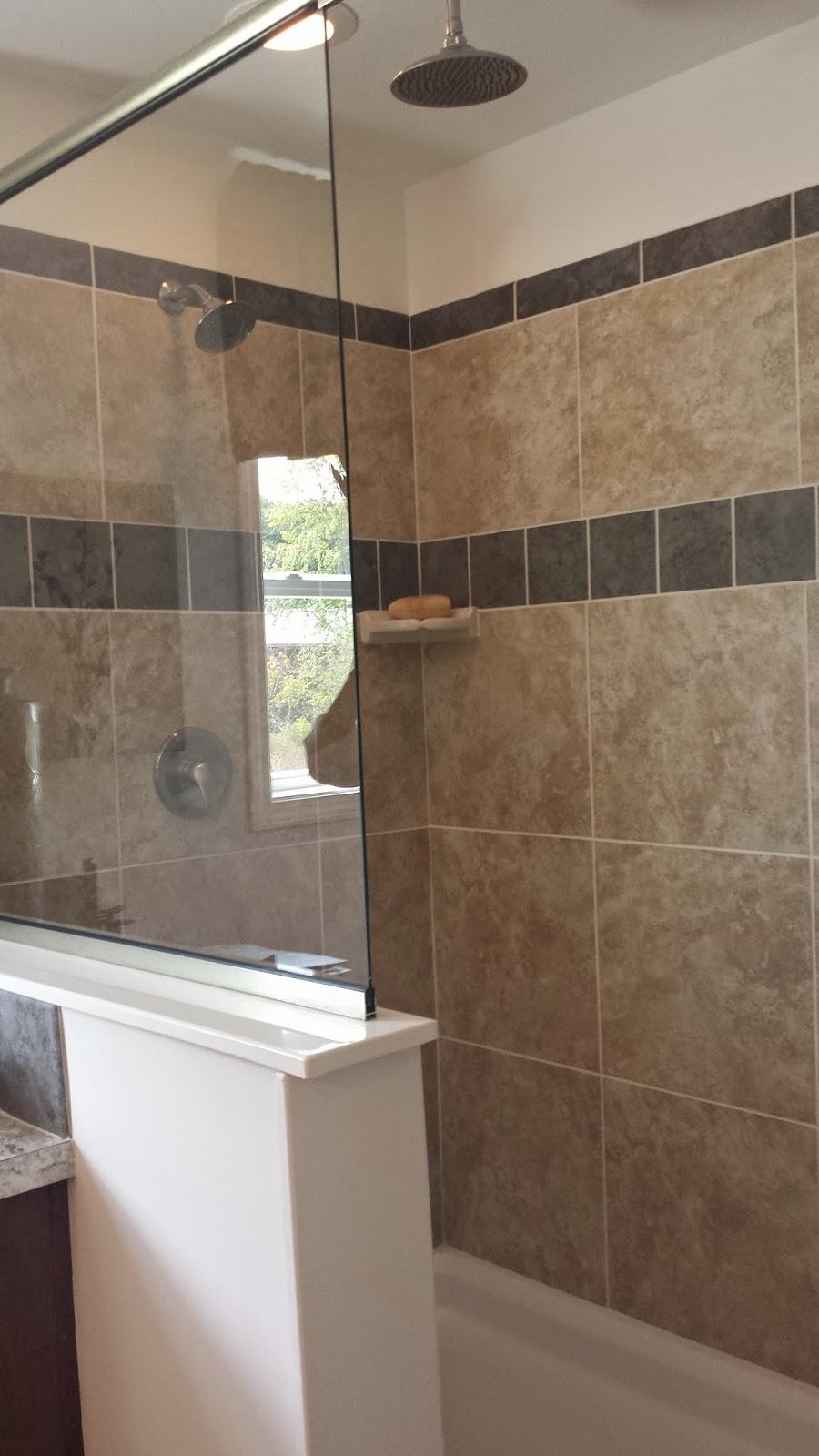 Len Hancock Home Solutions - 4 x 6 tile shower
