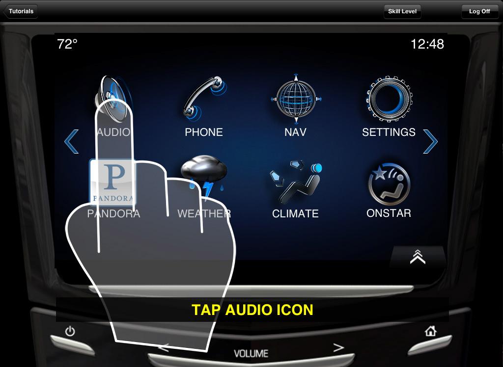 Cadillac xts un ipad offert pour promouvoir cue autos for Application miroir pour ipad