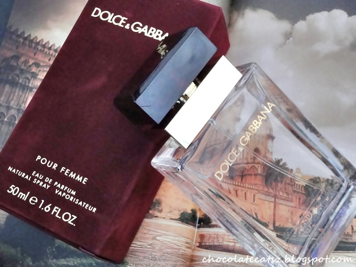 b508d6bf6921 Although the new Dolce   Gabbana Pour Femme is described as