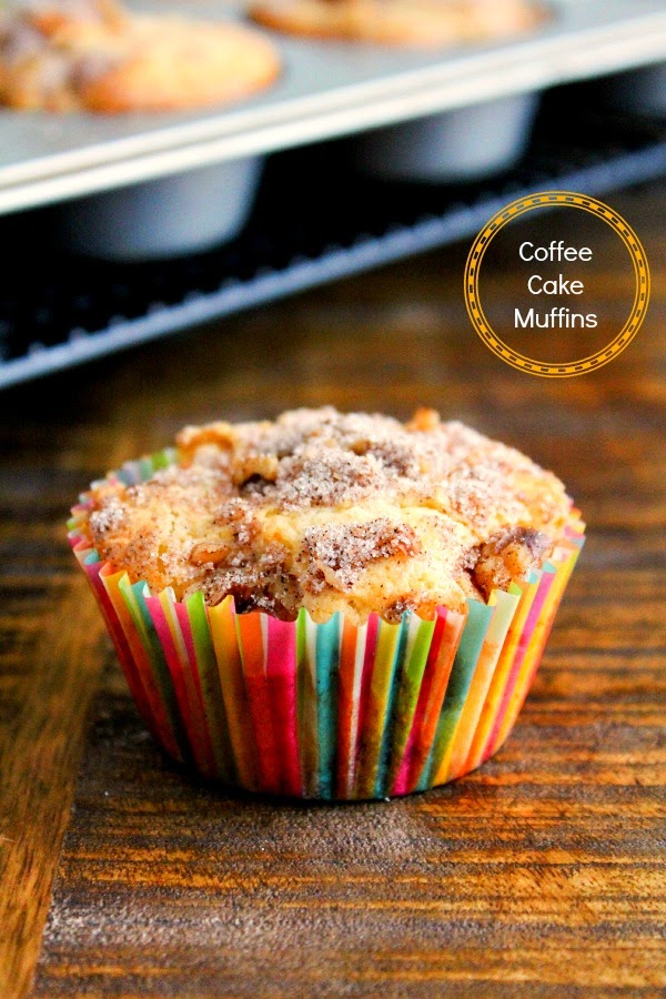 Coffee Cake Muffins | The Chef Next Door