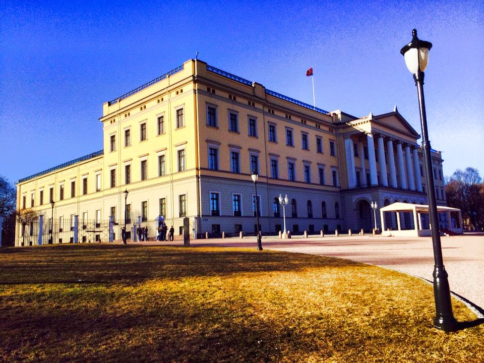 Royal Palace Olso Norway - Bearded Couture