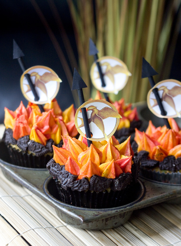 Ericas Sweet Tooth Hunger Games Cupcakes