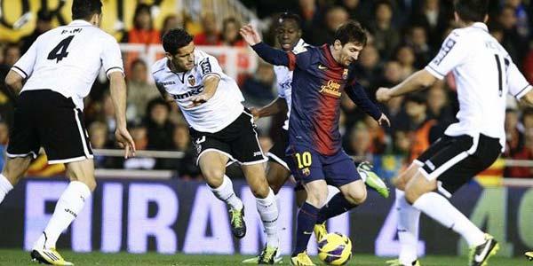 Video Highlight : Valencia 1-1 Barcelona