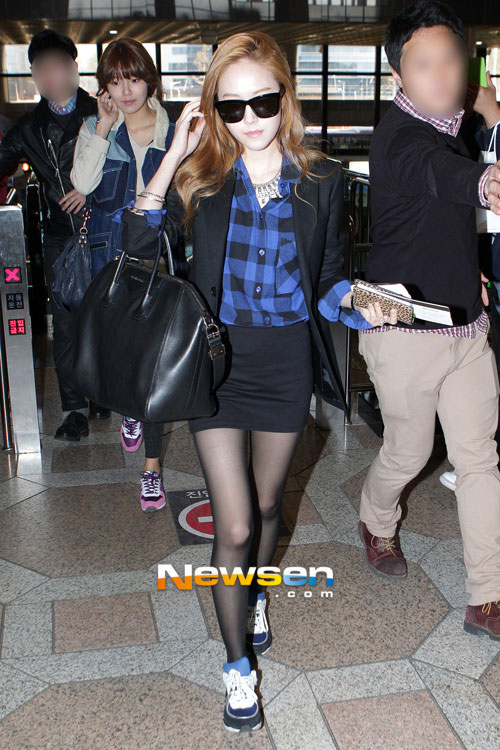 Girls Generation Gimpo Airport