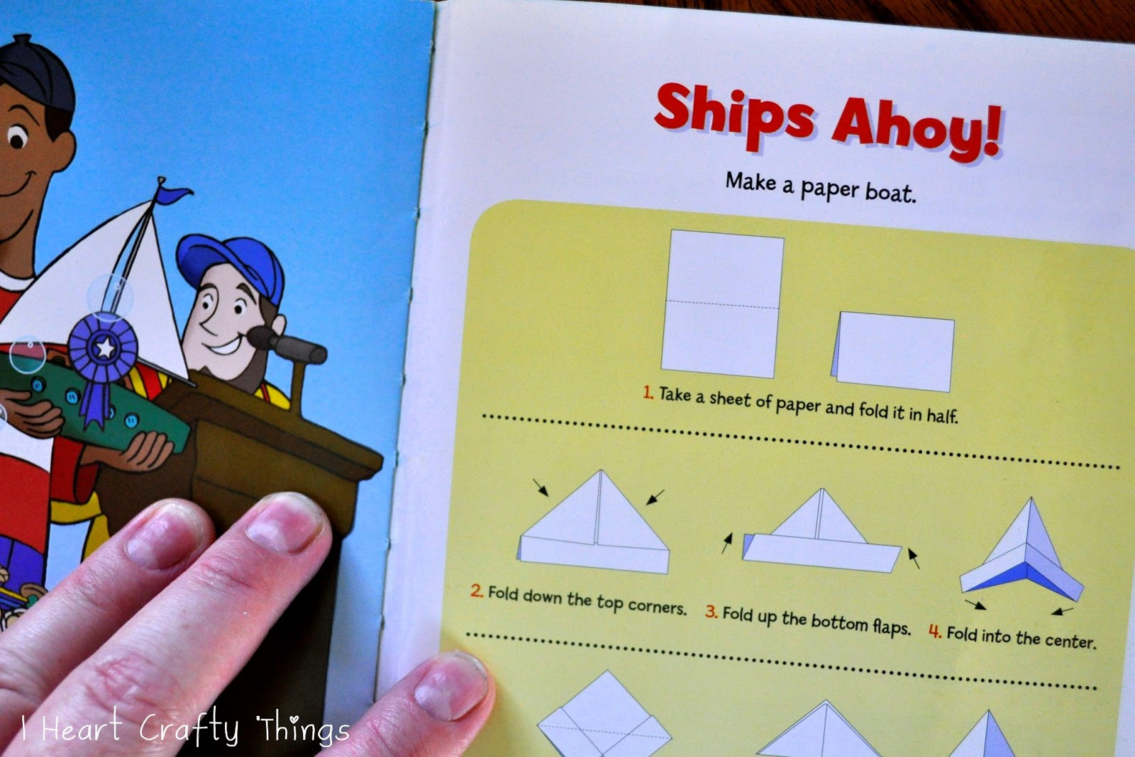 Paper Boat Races With A Free Sink Or Float Worksheet I Heart