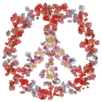 flower peace attraction