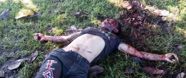 Dead body of Prabin Rai(34)