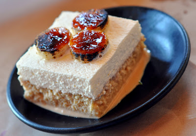 Tres Leches with Caramelized Bananas at Zuzu in Napa, CA - Photo by Taste As You Go