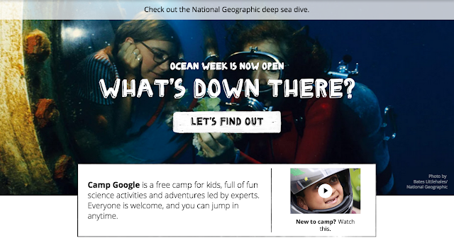 Visit Camp Google