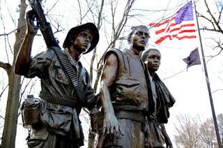 Monumento conmemorativo a los soldados de Vietnam en Washington