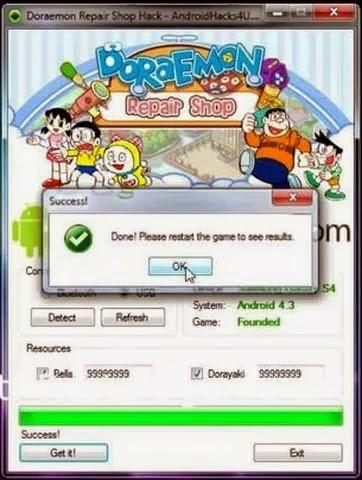 Doraemon Repair Shop Hack Tool