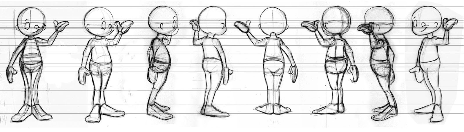 Character Design Proportions : Sonjebasaland how to draw a turn around