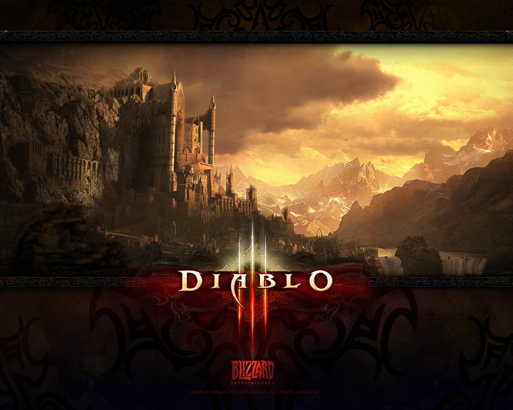 Diablo HD & Widescreen Wallpaper 0.142430465245847
