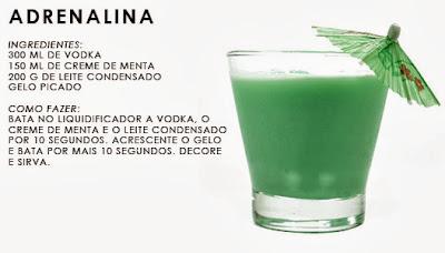 Drinks com Vodka Fáceis com Leite Condensado