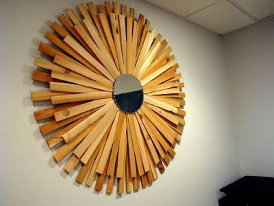 15 вариантов самодельного декора зеркал от fljuida.com 6