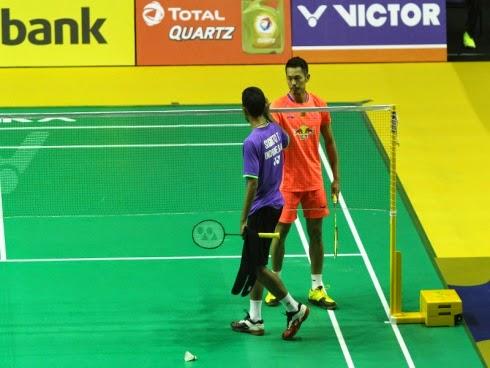 Hanya dua minit Lin Dan ke pusingan kedua Kejohanan Badminton Siri Super Terbuka Malaysia 2015