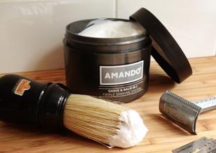 REVIEW: AMANDO SHAVE & BALM IN 1