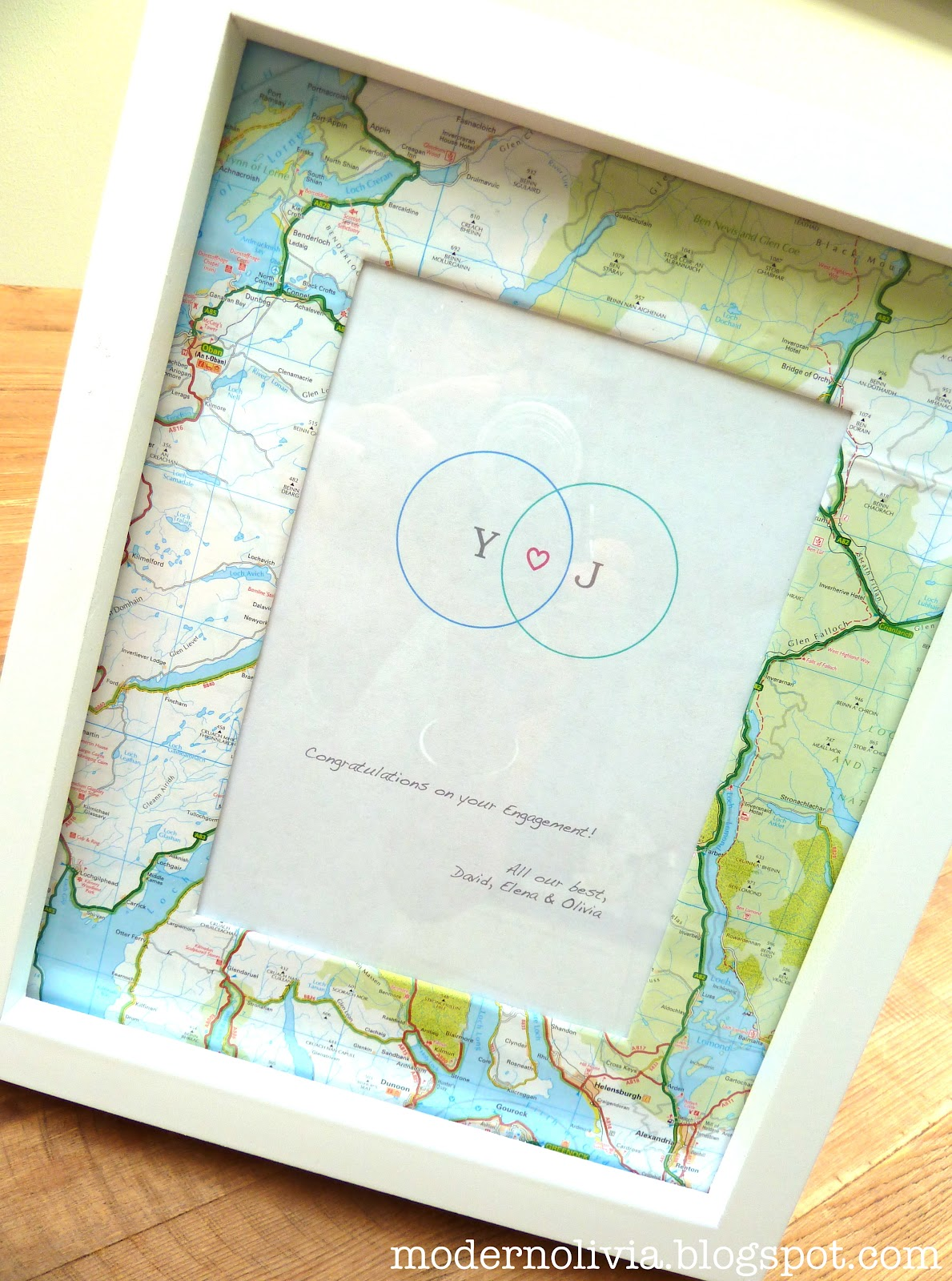 Modern Olivia Pinterest Inspiration Diy Map Frame