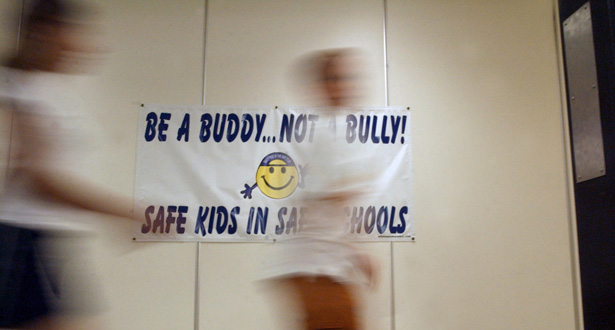 school policy on bullying speech