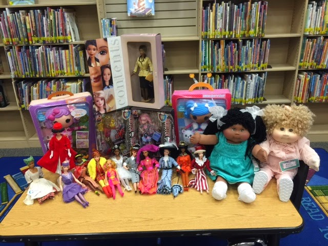 the author's doll collection