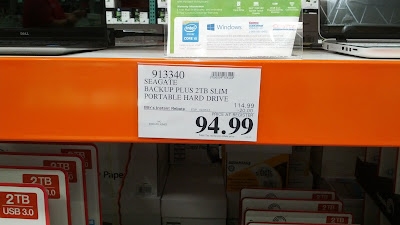 Costco is offering this deal for the Seagate Backup Plus 2TB hard drive with an instant rebate