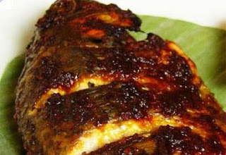 Grilled Fish in Red Sauce Ikan Bakar Saus Tomat
