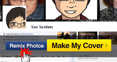 CoverCanvas Remix Photos 7 Como fazer capas personalizada pro Facebook  photoshop