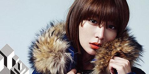 Bibir Merah, Selebritis Korea Ini Tampak Seksi!