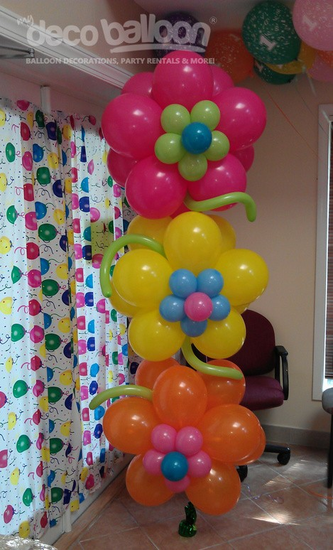 I can only imagine make flower balloons for or parties for B day party decoration