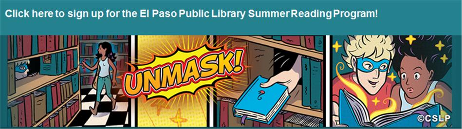 El Paso Public Library Summer Reading Program