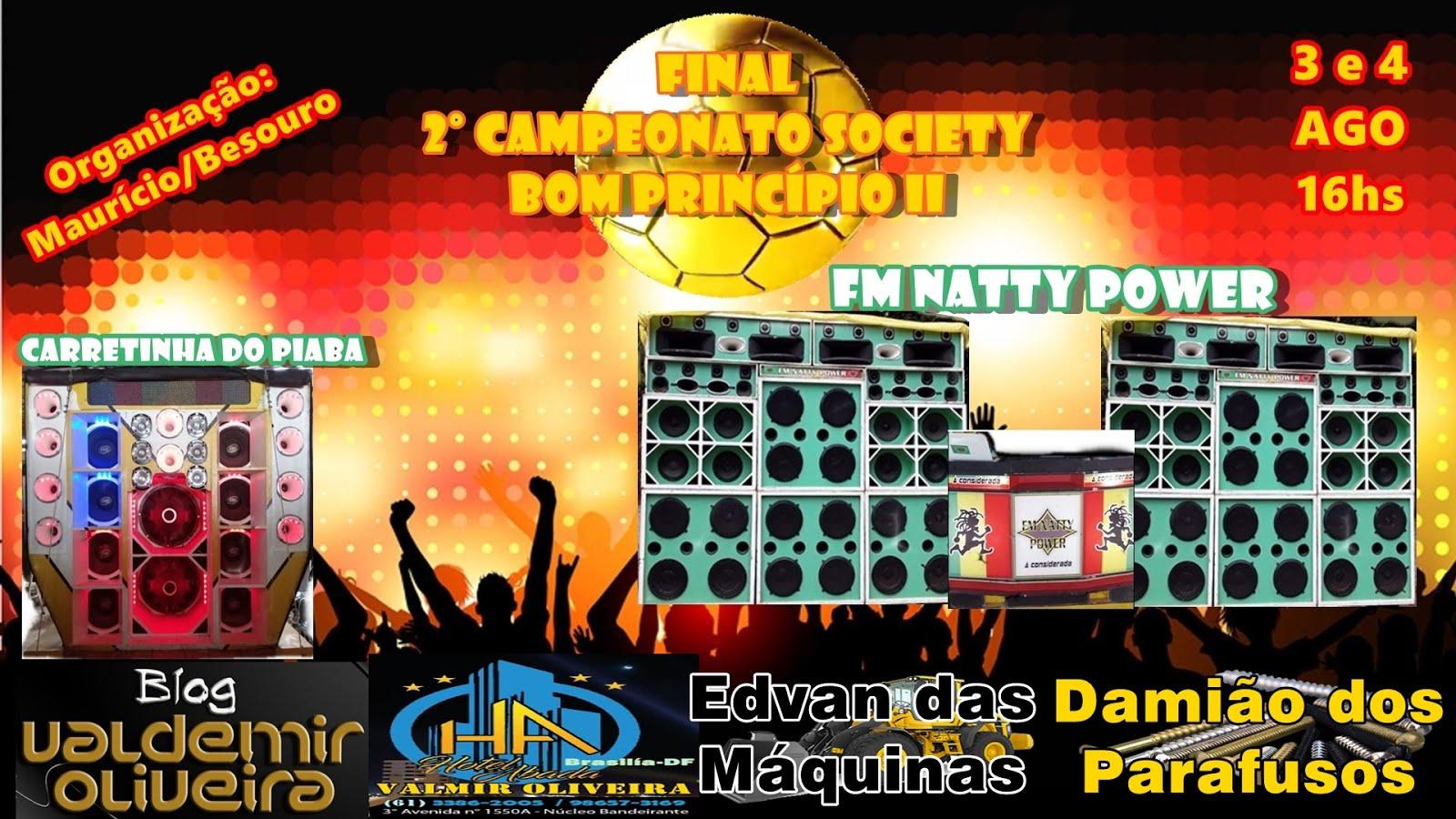 Final do 2° Campeonato Society
