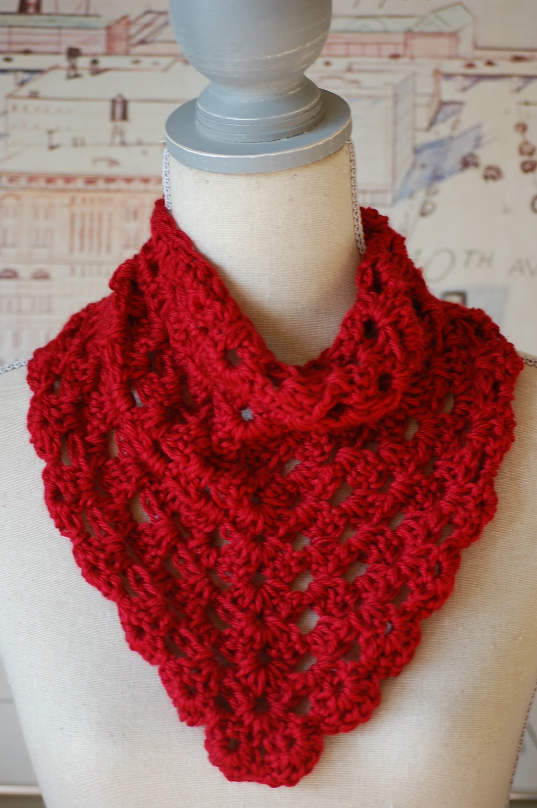 Donna\'s Decembers: New to the Shop! The Bandana Cowl