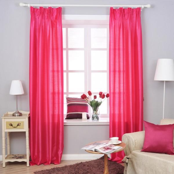 rideau rouge pour votre maison rideaux et voilages