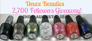 Deuce Beauties 2700 Follower Giveaway!
