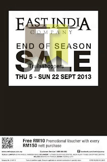 East India End of Season Sale 2013