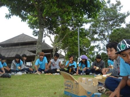 Photo Smanab Scout Camp With KKR