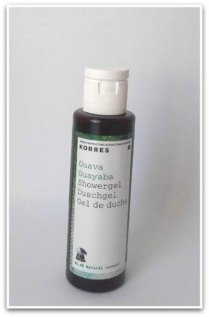 Gel de ducha guayaba de Korres